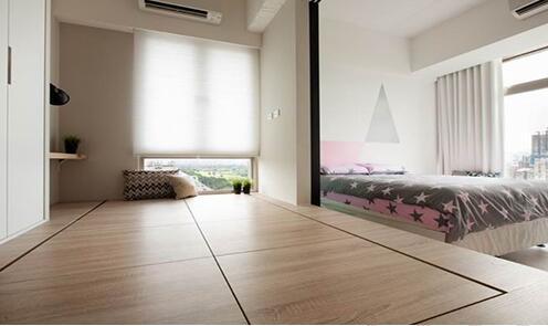 卧室地台装修效果图